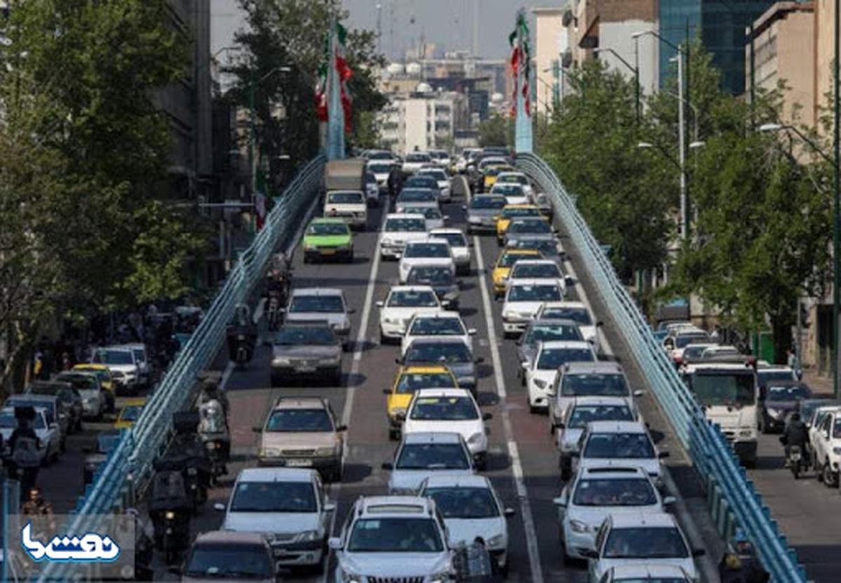 افزایش ۷۵درصدی ترافیک در تهران