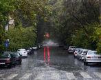 پیش بینی بارش باران در تهران