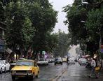 بارش باران در تهران و البرز