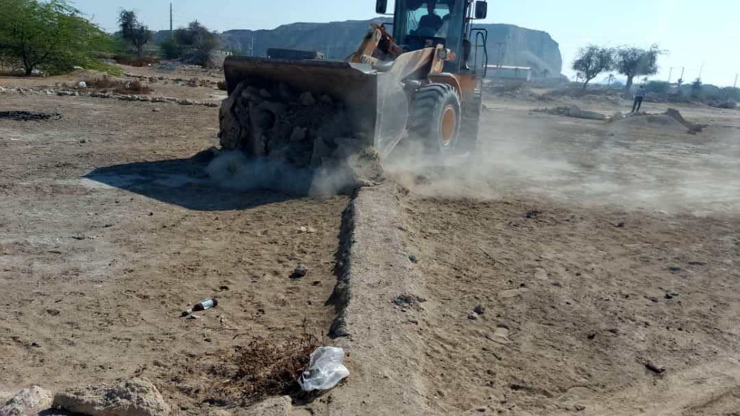 رفع تصرف 4.2 هزارمترمربع اراضی خالصه دولتی به ارزش 23.4میلیارد ریال در بندرگاه شهر درگهان