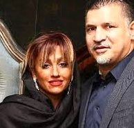 عکس لو رفته از علی دایی و همسرش بدون حجاب در پارتی مختلط + تصاویر