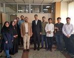 بازدید مهندس فتاحی از باشگاه خبرنگاران جوان
