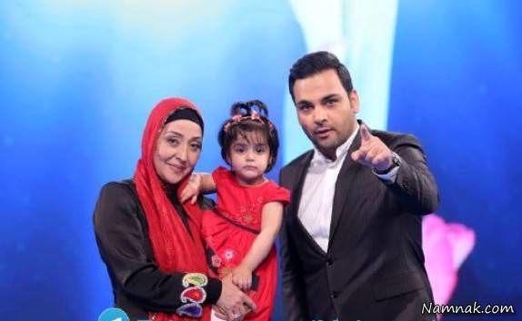 احسان علیخانی ، آرزو افشار و دختر خوانده اش