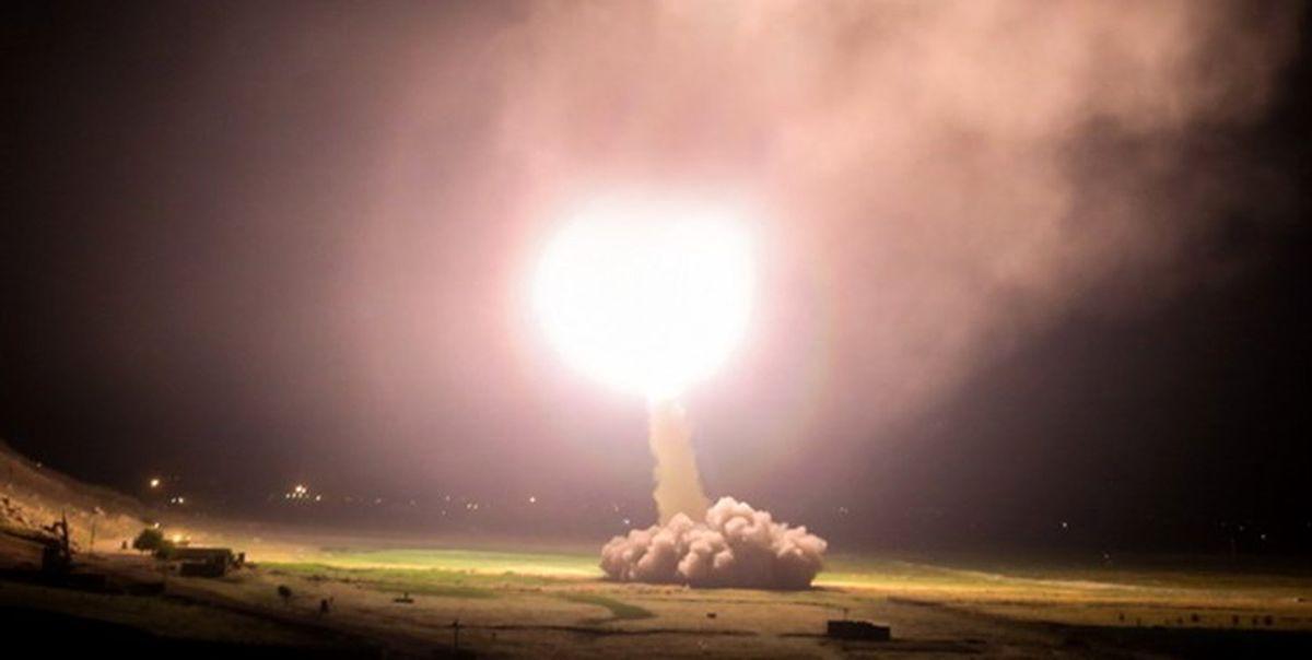 موج دوم حملات موشکی ایران به مواضع امریکا اغاز شد