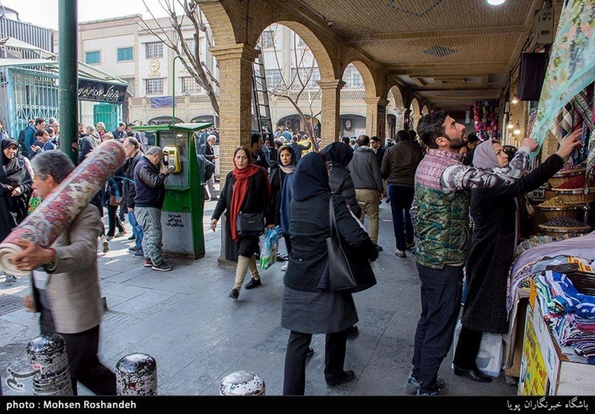 بازار تهران در آرامش،درخواست جدی بازاریان برای برخورد با اغتشاشگران