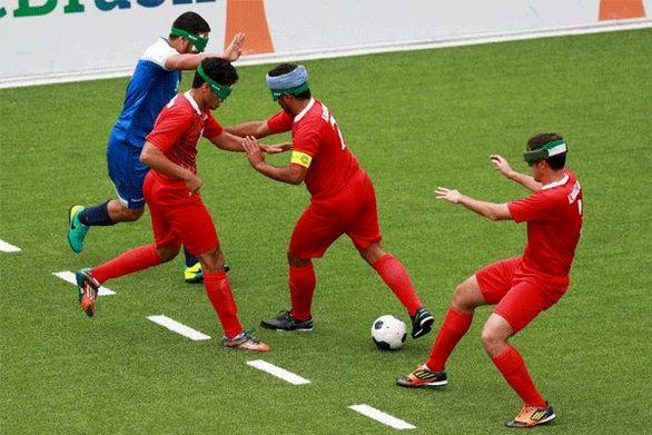حضور تیم فوتبال ۵ نفره در انتخابی پارالمپیک