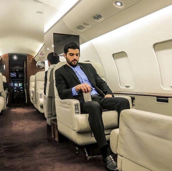 هواپیمای شخصی سینا مهراد+ عکس | نشان آنلاین