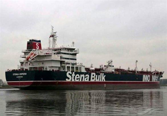 علت توقیف نفتکش انگلیسی