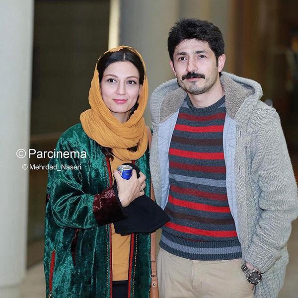 حدیث میرامینی و همسرش در نخستین روزهای ازدواجشان در کاخ جشنواره ...