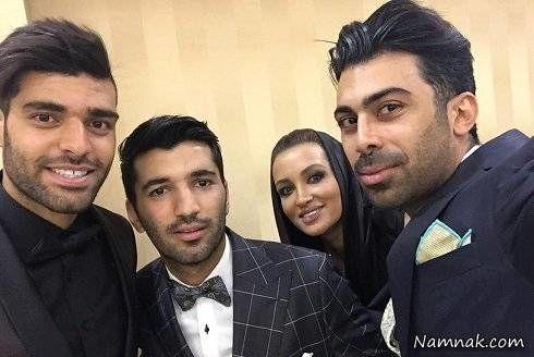 روناک یونسی در عروسی محسن مسلمان