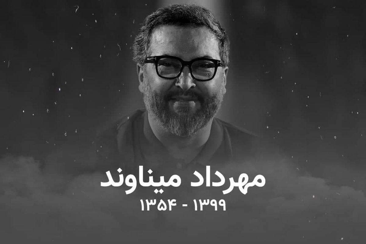 حضور احمدرضا عابدزاده بر سر مزار مرحوم میناوند + عکس