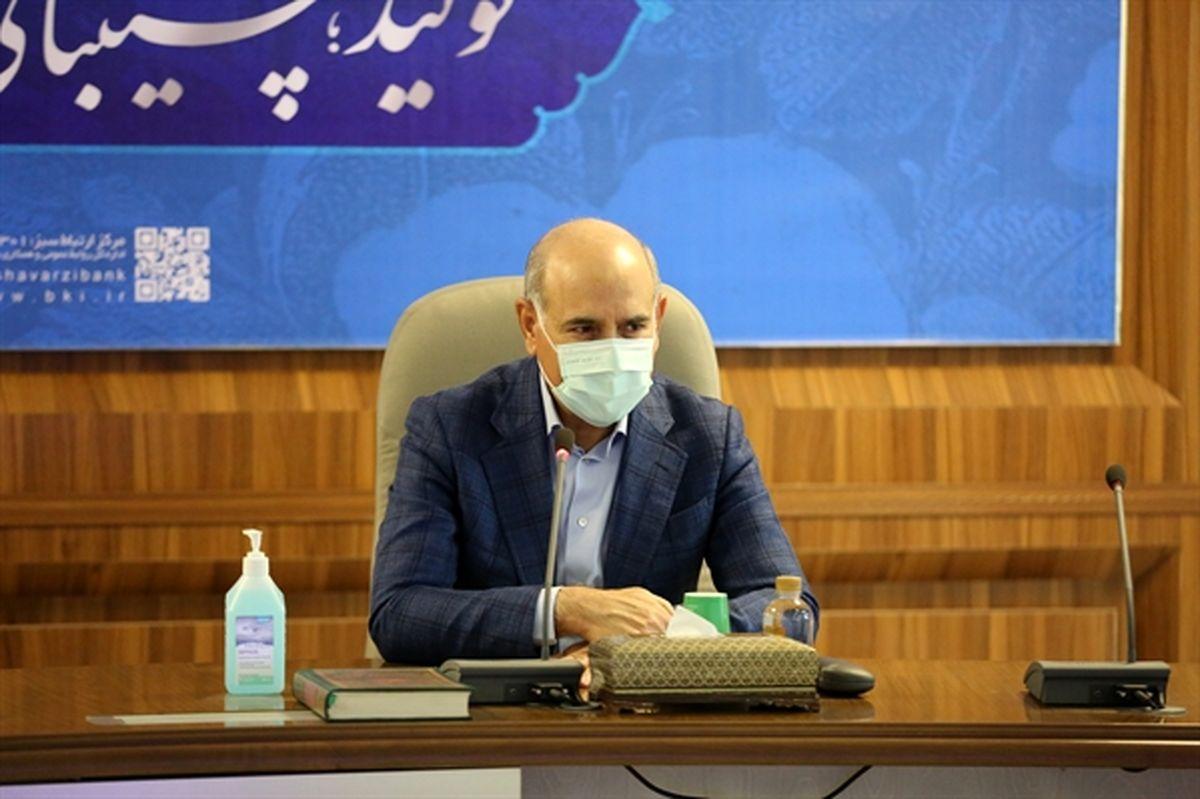 روح اله خدارحمی در شورای عالی مدیران: تحقق شعار سال وظیفه ذاتی بانک کشاورزی است