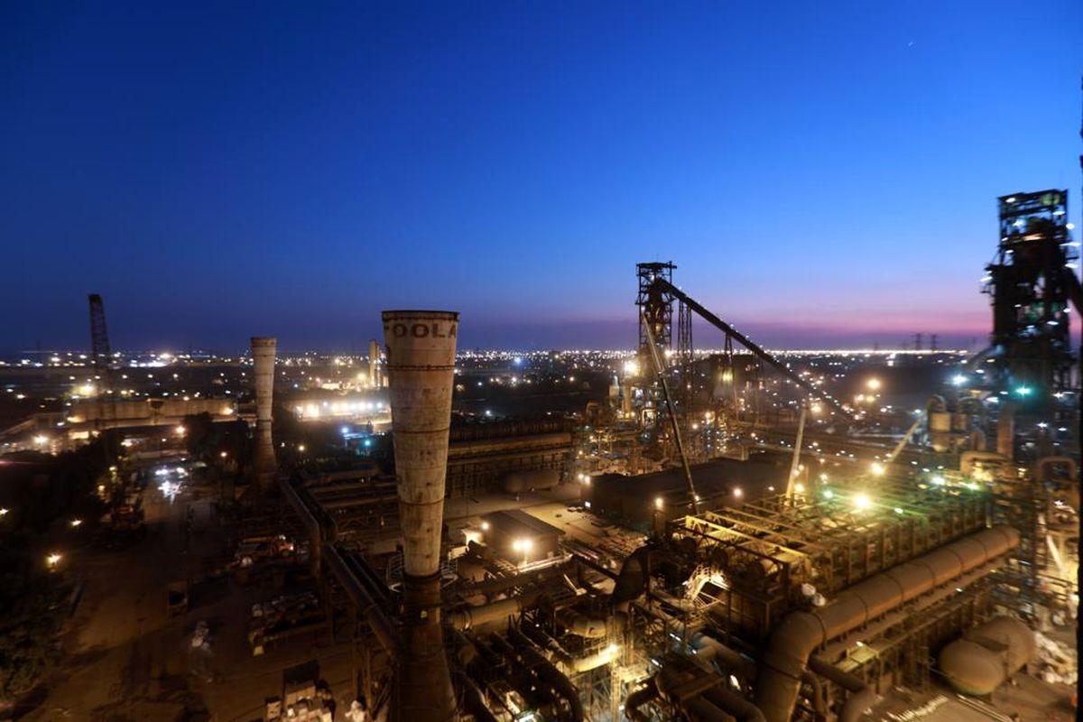 رکورد تولید روزانه در واحد احیا مستقیم فولاد هرمزگان شکسته شد