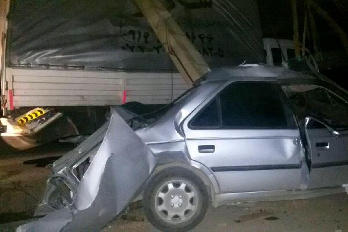 تصادف ۲ خودرو در ری ۸ نفر مصدوم به جا گذاشت