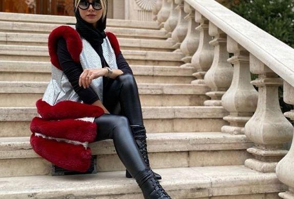 تیپ تابستانی همسر شاهرخ استخری + عکس