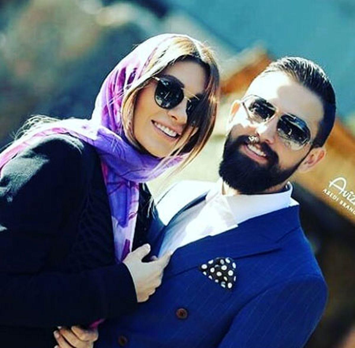 محسن افشانی و همسرش آشتی کردند   عکسهای محسن افشانی و سویل