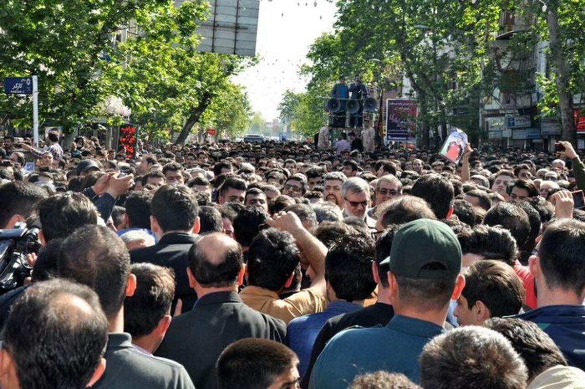 پیکر آیت الله علم الهدی در تهران تشییع می شود
