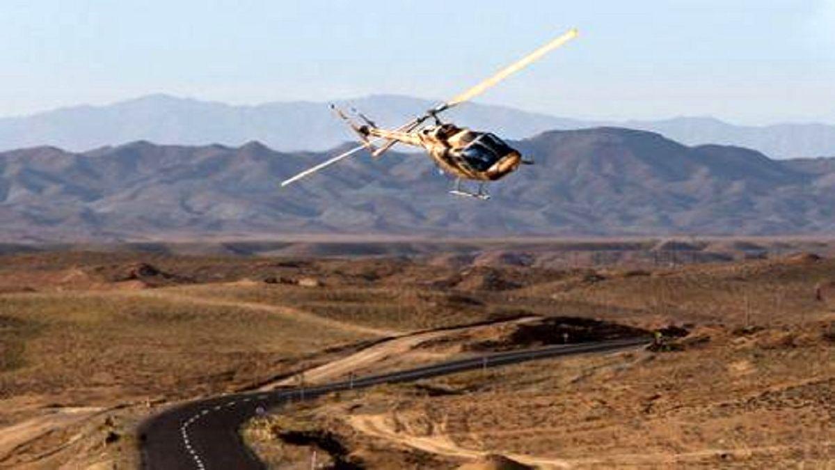 وقوع حادثه برای یک فروند بالگرد نیروی زمینی سپاه