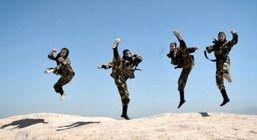 تصاویری از تمرینات نظامی سخت زنان نینجای ایرانی + عکس