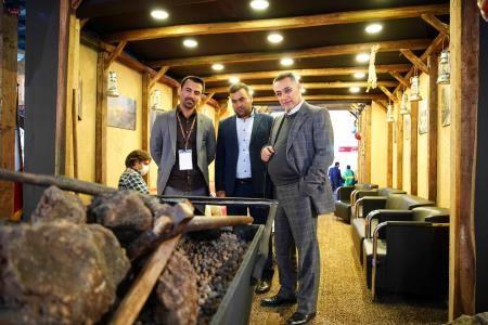 گزارش تصویری بازدید مدیریت مجتمع سنگ آهن سنگان از نمایشگاه کان مین 2019