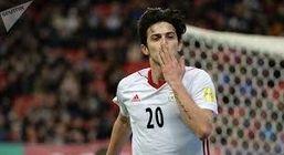 سردار ازمون در ترکیب اصلی زنیت برابر لیون در لیگ قهرمانان اروپا + عکس