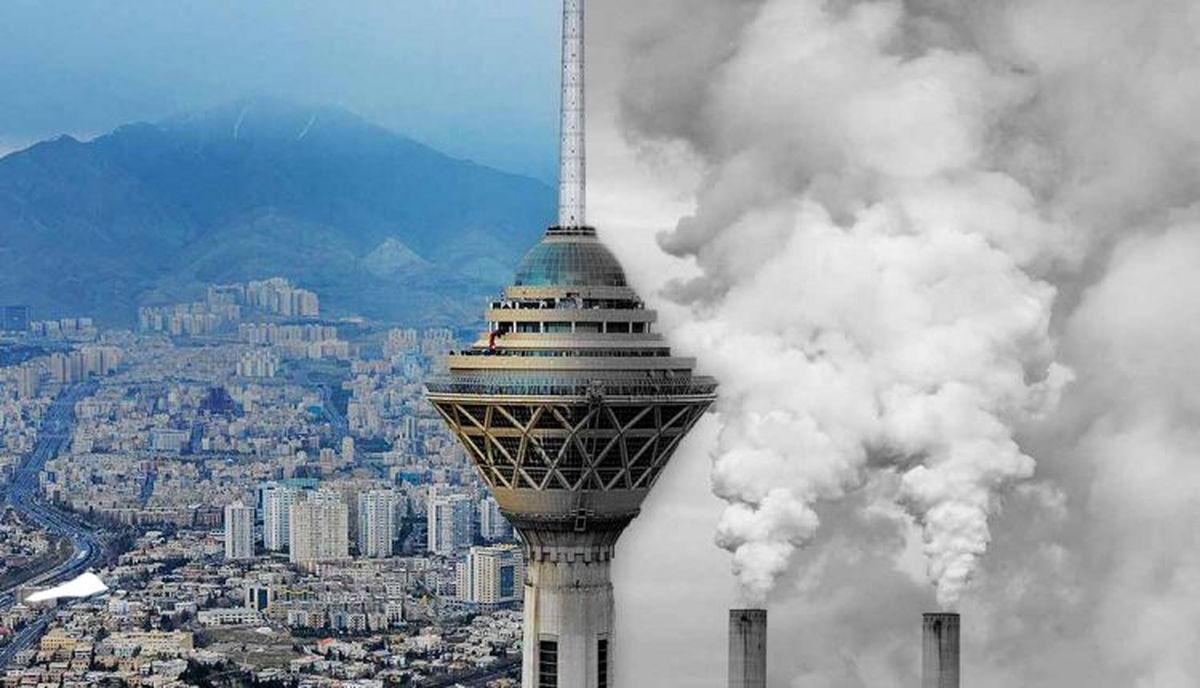 شاخص الودگی هوا در تهران به ۱۲۹ رسید