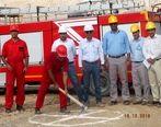 شروع عملیات خاکبرداری جهت احداث ساختمان های کلینیک و آتش نشانی پتروشیمی هنگام