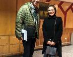 عاشقانه های عادل فردوسی پور و همسرش !؟ + عکس دو نفره