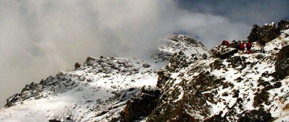 نجات ۱۴ کوهنورد در ارتفاعات «کلکچال»