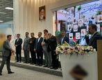 تقدیر از مدیر عامل بیمارستان میلاد در مراسم تجلیل از قهرمانان سلامت