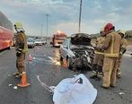 جزئیات تلفات تصادف شدید در بزرگراه تهران + تصاویر