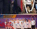 روسری گذاشتن «مربی مرد» تیم دختران کبدی تایلند +عکس