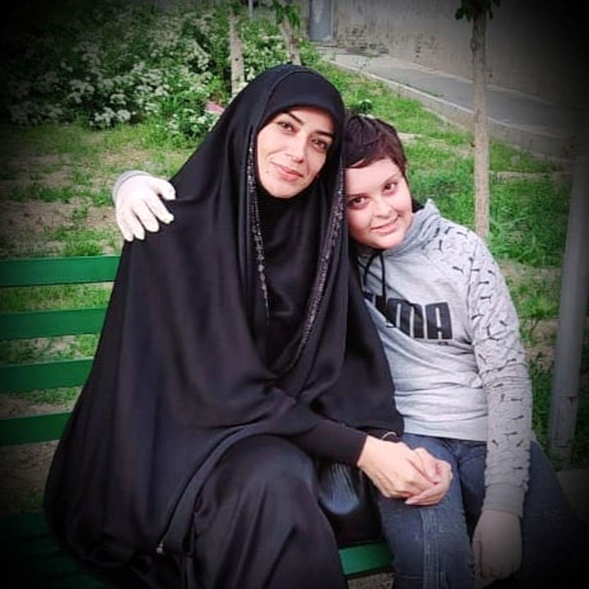 عکس خاص الهام چرخنده و همسر روحانی اش در خارج از کشور   عکسهای الهام چرخنده و همسر سومش