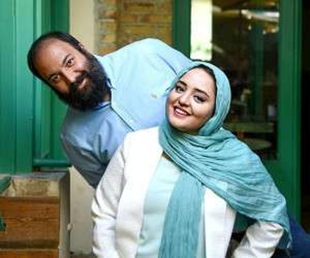 نرگس محمدی و همسرش + بیوگرافی