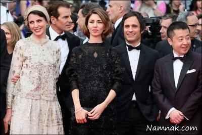 لیلا حاتمی با لباس ایرانی در کن